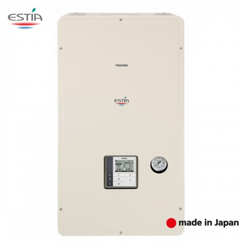 Термопомпa   TOSHIBA ESTIA HWS-1405XWHM3-E / HWS-1105H-E
