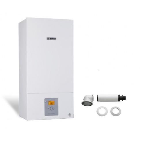Промо пакет двуконтурен газов котел Bosch Condens 2500W WBC 28-1 DСE 23 CW