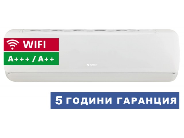 Климатик GREE GWH09AEC-K6DNA1A G-TECH WIFI