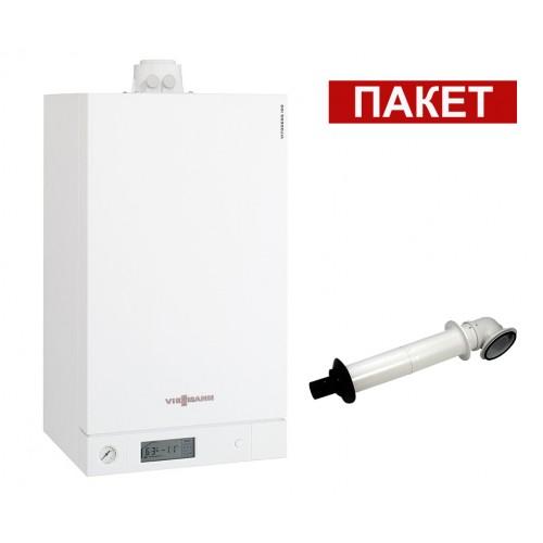 Промо пакет едноконтурен газов котел Viessmann Vitodens 100-W 4.7 - 19.0