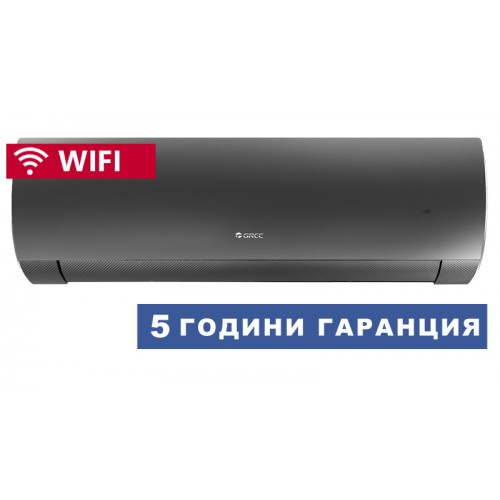 Климатик GREE GWH12ACC-K6DNA1D FAIRY BLACK, WIFI