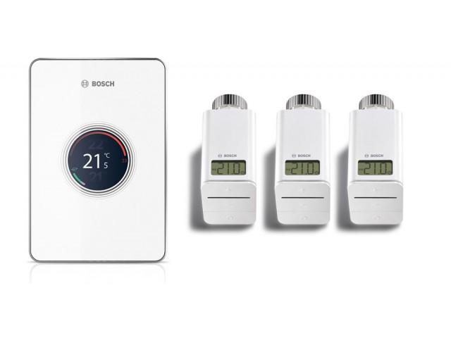 Интелигентнo термоуправлениe Bosch Easy control CT 200 Set