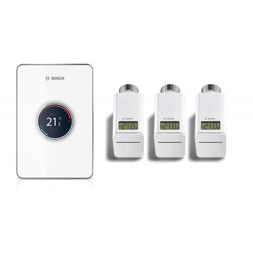 Интелигентнo термоуправлениe Bosch Easy control CT 200 Set