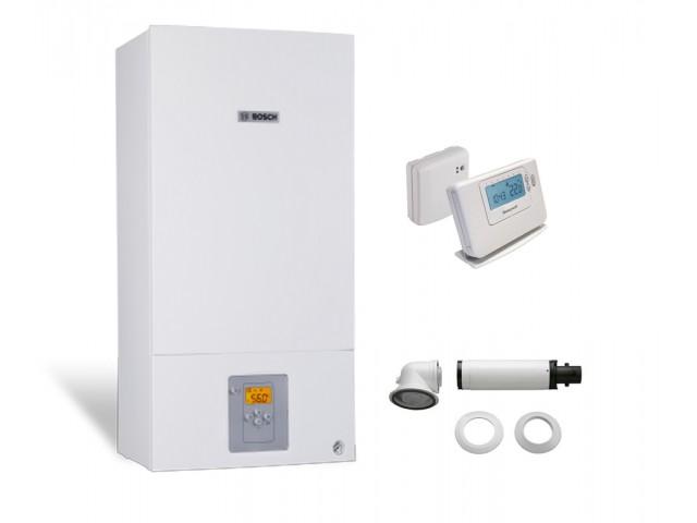 Промо пакет eдноконтурен газов котел Bosch Condens 2500W WBC 24-1 DE 23 & Wireless controller