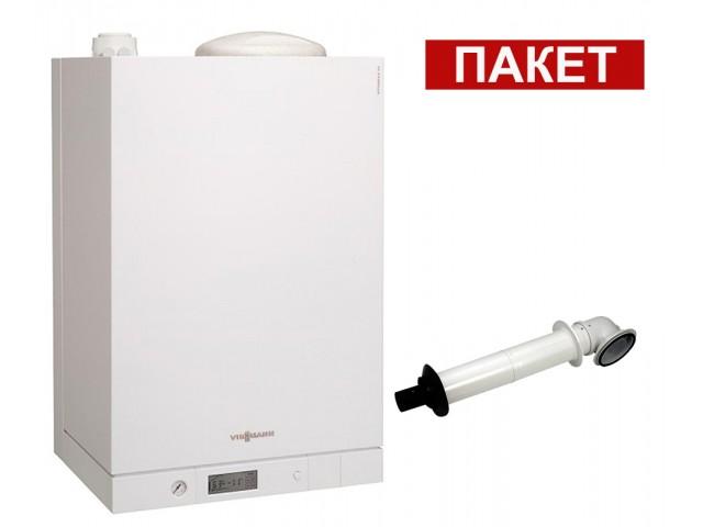 Промо пакет газов котел  с вграден водосъдържател Viessmann Vitodens 111-W 4.7 - 26.0