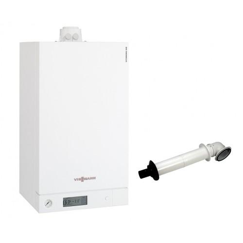 Промо пакет двуконтурен газов котел Viessmann Vitodens 100-W 4.7 - 26.0