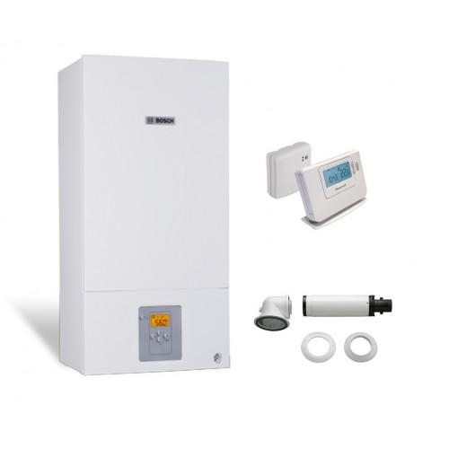 Промо пакет двуконтурен газов котел Bosch Condens 2500W WBC 28-1 DСE 23 & Wireless controller