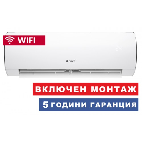 Климатик GREE GWH09ACC-K6DNA1A FAIRY, WiFi