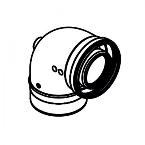 Коляно за димоход 60/100 90˚ EKFGP4660