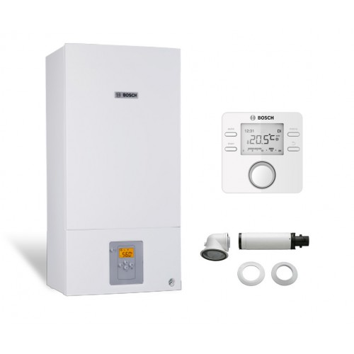 Промо пакет едноконтурен газов котел Bosch Condens 2500W WBC 24-1 DE 23 & CR100
