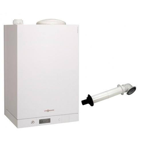 Промо пакет газов котел с вграден водосъдържател Viessmann Vitodens 111-W 4.7 - 19.0